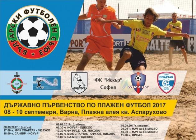 Beach Soccer poster